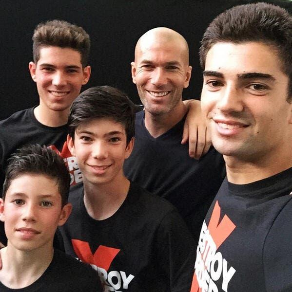 Le selfie de la famille Zidane fait le buzz