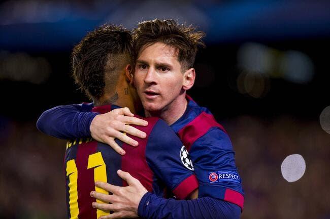 Neymar et Messi au PSG ? Un rire qui tue