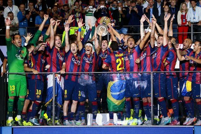 Barcelone roi d'Europe puissance 5 !