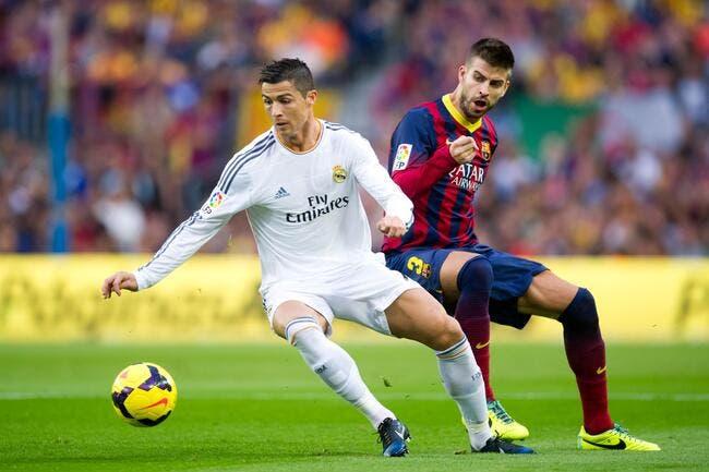 Cristiano Ronaldo moqué salement par Piqué