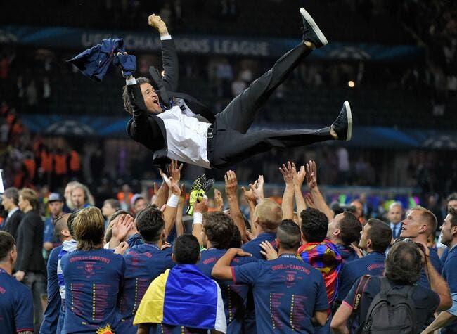 Luis Enrique prolonge au FC Barcelone jusqu'en 2017 !
