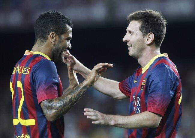 Messi a calmé le clash entre Dani Alves et le Barça