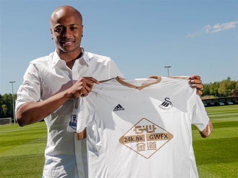 Officiel : André Ayew signe 4 ans à Swansea !