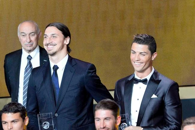 Cristiano Ronaldo au PSG, Ibrahimovic dit banco