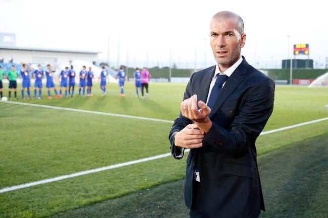 Zidane chaud pour entraîner l'OM ?