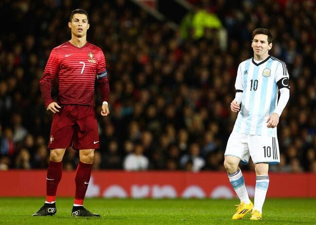 Cristiano Ronaldo ? Messi ne voit aucune concurrence