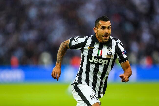 Le PSG pris pour un pigeon par la Juventus pour Tevez ?