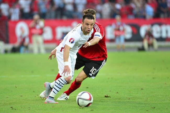 Valbuena vide son sac après le fiasco français en Albanie