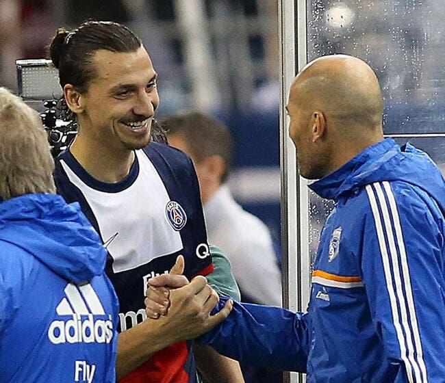 Zidane a du mal à dire du bien du PSG, mais...