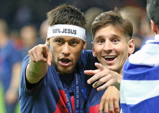 Et le Ballon d'Or 2015 est donné à...Messi annonce Neymar