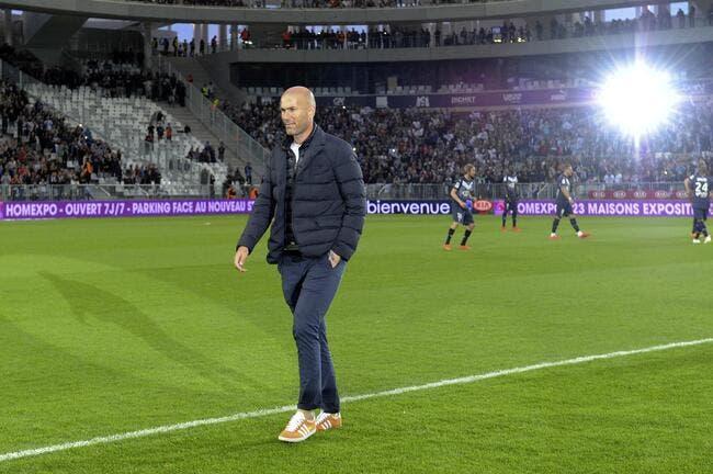 Zidane à Bordeaux, Triaud dévoile un secret
