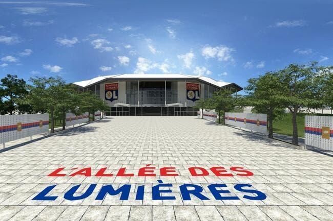 Le Stade des Lumières inauguré contre Troyes le 9 janvier 2016 ?