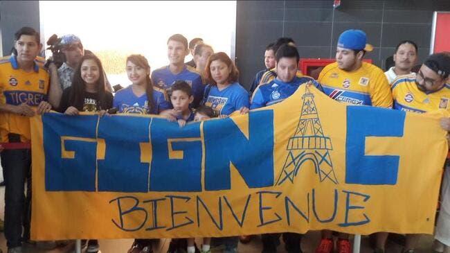 Photo : Gignac accueilli au Mexique avec un symbole du PSG
