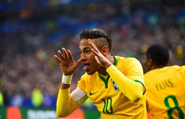 4 matches de suspension pour Neymar !