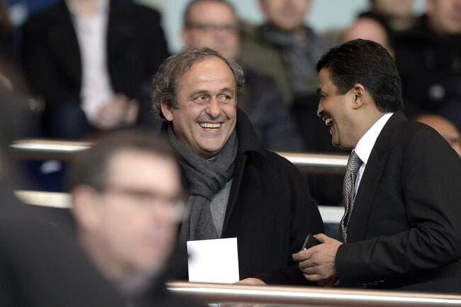 Platini vendu au Qatar, son fils en rigole encore
