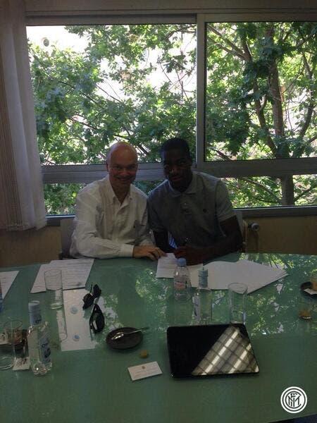 L'Inter officialise la signature de Kondogbia