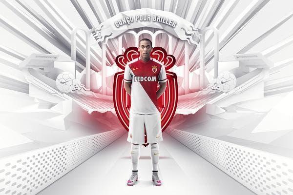 Photo : Monaco dévoile son nouveau maillot domicile