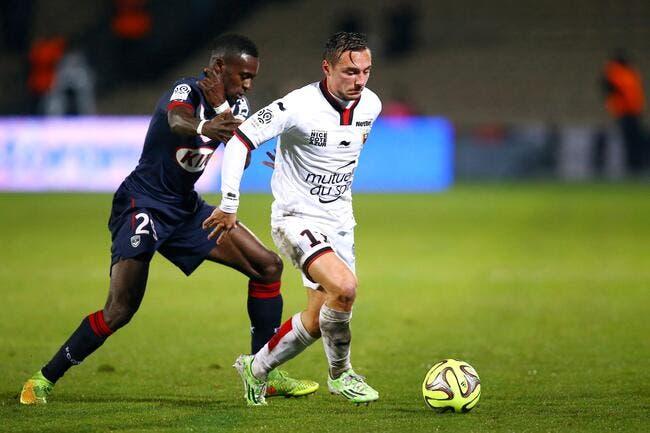 Officiel : Bauthéac quitte Nice pour le LOSC