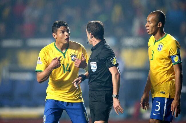 Thiago Silva amnésique à propos de son pénalty provoqué