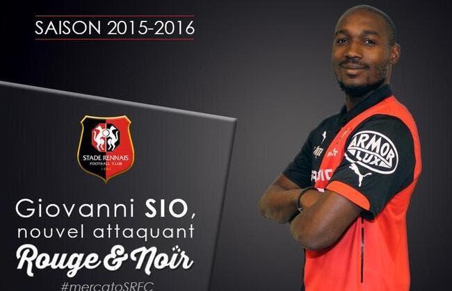 Officiel : Sio signe au Stade Rennais