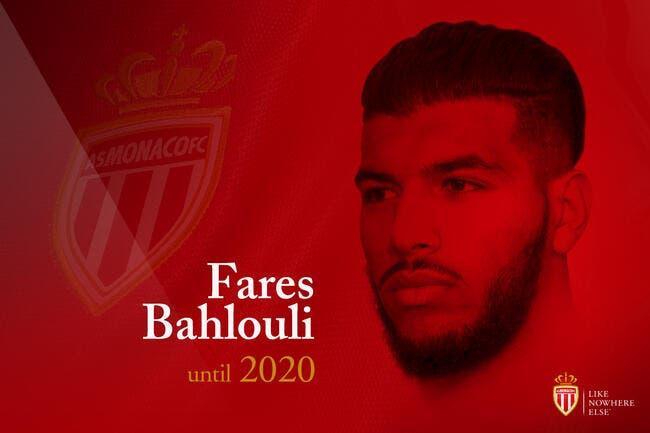 Monaco officialise la signature de Bahlouli