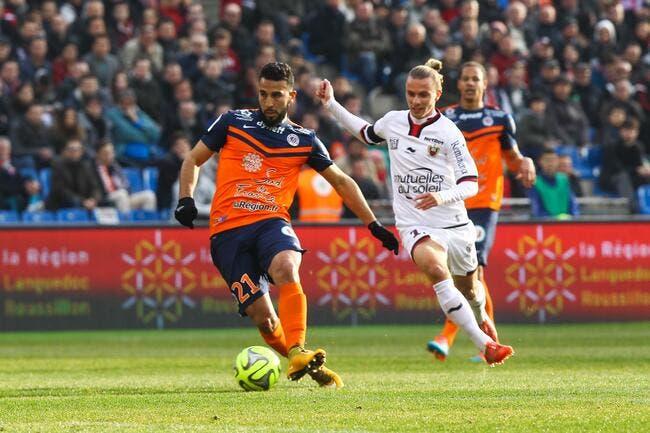 Montpellier s'offre Nice et rêve d'Europe