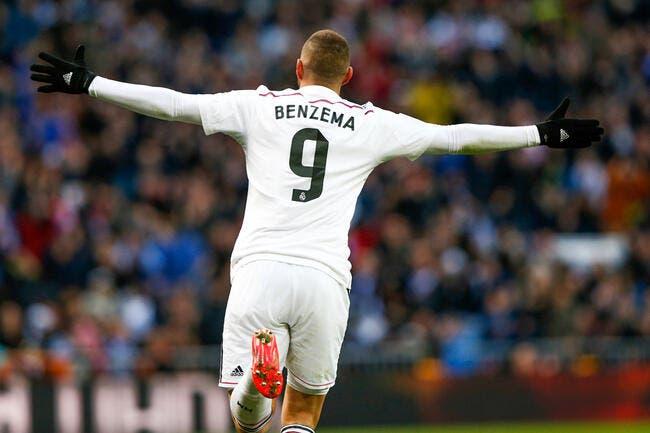 Passer de l'OL au Real, Benzema s'en félicite tous les jours