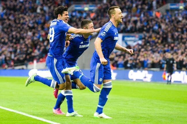 Premier trophée pour Chelsea