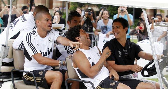 Vidéo : L'entrainement du Real Madrid version cour d'école