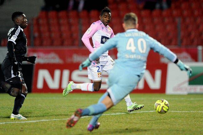 Evian a les points, Lorient a les boules