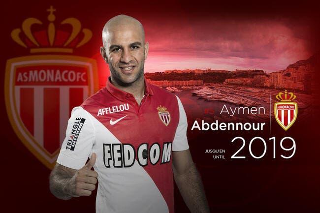 Officiel : Monaco vérouille Abdennour jusqu'en 2019