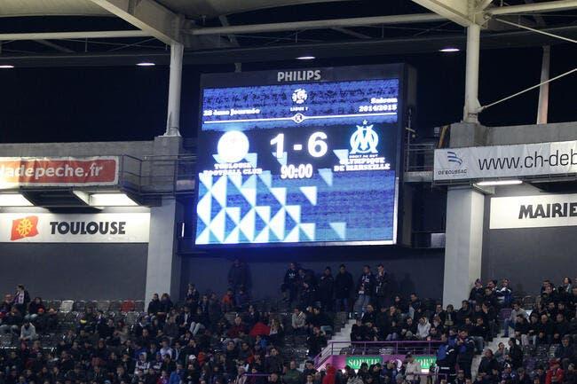 1-6 à la maison, ça fait mal reconnait Toulouse