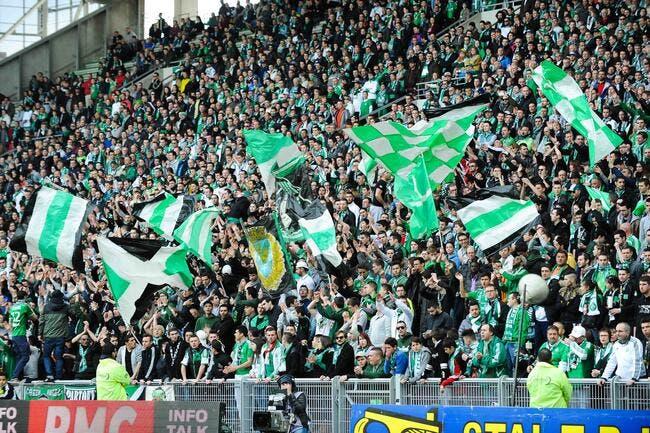 Les supporters de l'ASSE interdits à Metz