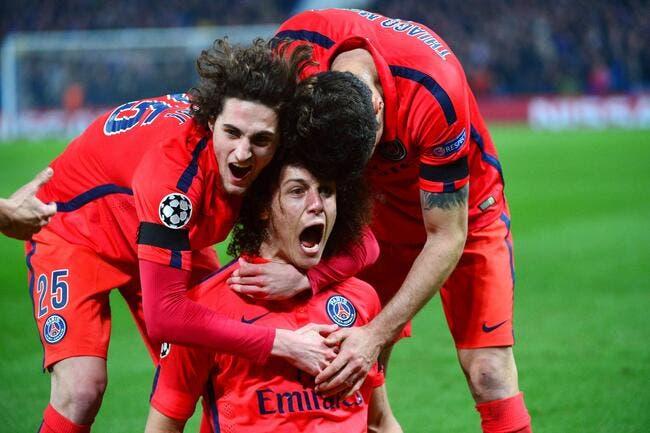 David Luiz a toujours cru à la qualification du PSG