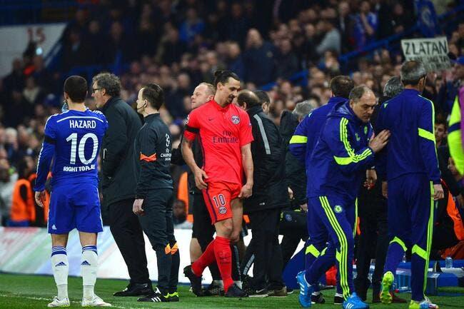 Ibrahimovic accuse Chelsea pour son carton rouge