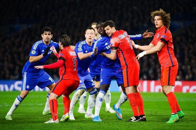Un début de bagarre dans les vestiaires de Chelsea-PSG