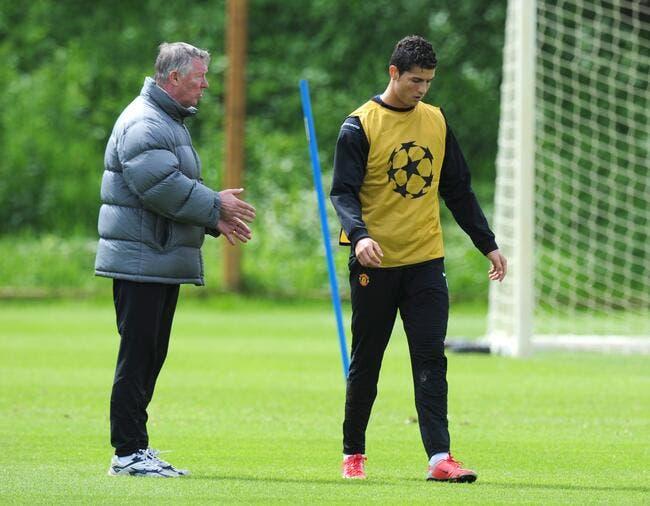 Cristiano Ronaldo travaillé au corps par Sir Alex ?