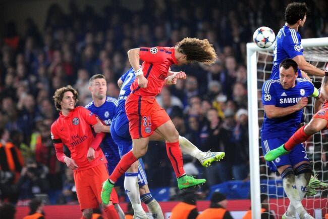 David Luiz colle une deuxième claque à Mourinho et Costa