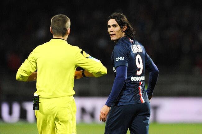 Les arbitres trop cools avec les stars du PSG balance Mounier