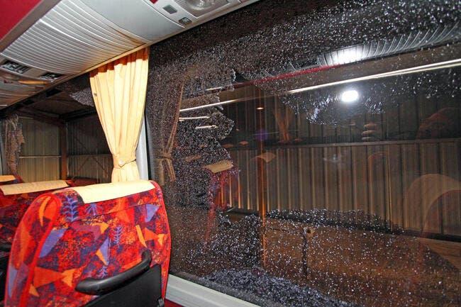 Rennes furieux après l'attaque des bus de supporters caennais