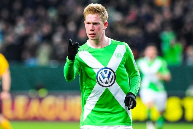Wolfsburg demande 60 ME au PSG pour De Bruyne