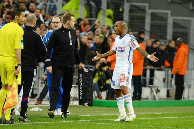 André Ayew rigole du pénalty pour le PSG
