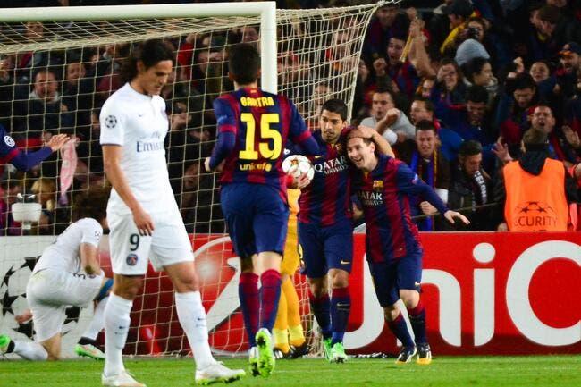Comme face à Chelsea, le PSG parle de revanche contre Barcelone