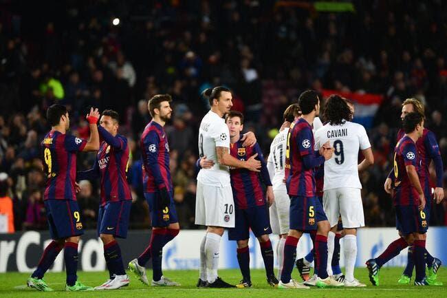Le PSG tombe sur le Barça