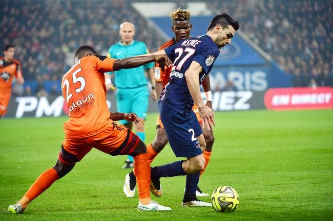 Lorient voit l'OL terminer champion