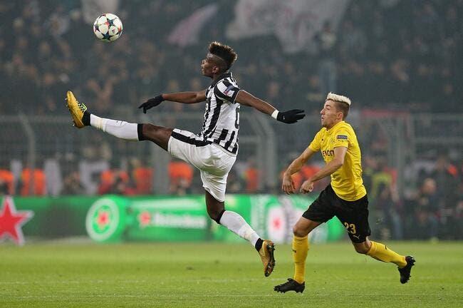 La Juventus crie son amour pour Pogba