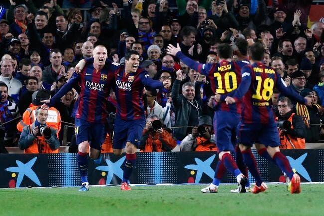 Le Clasico pour le Barça, qui s'évade au classement