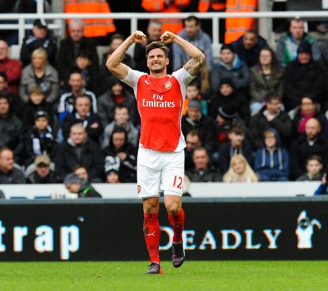 Arsenal, les Bleus, Giroud se sent encore plus fort