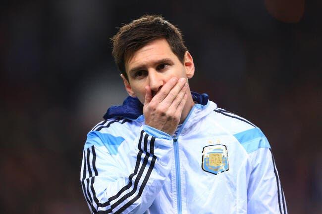 L'Argentine communique sur la blessure de Messi