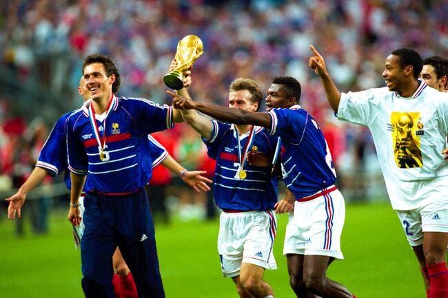 Equipe de france quand deschamps vannait platini en 1998 foot 01 - Joueur coupe du monde 98 ...